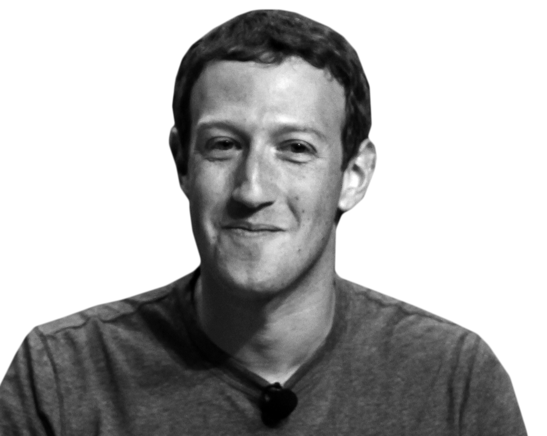 Steve Jobs Media Mark Zuckerberg Facebook, Social PNG Image