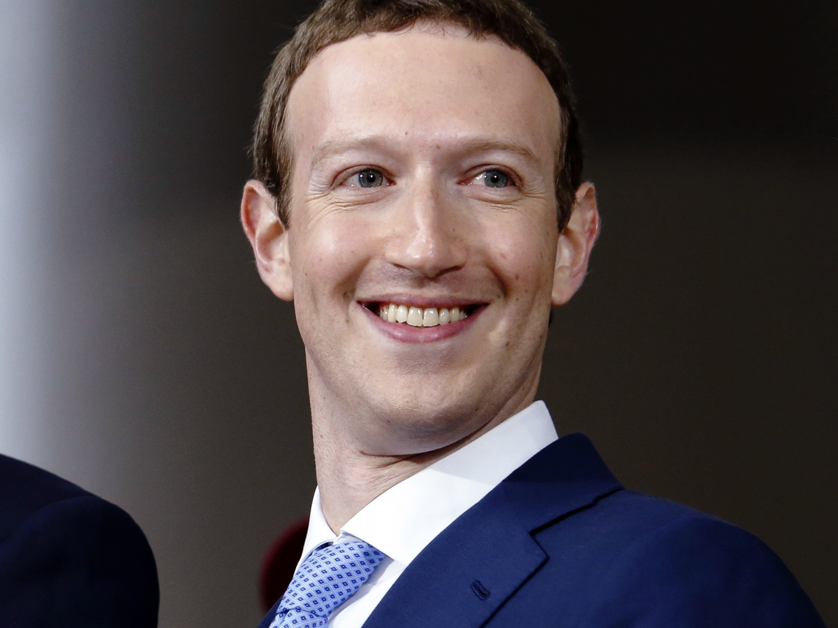 States United Billionaire Executive Mark Zuckerberg Chief PNG Image