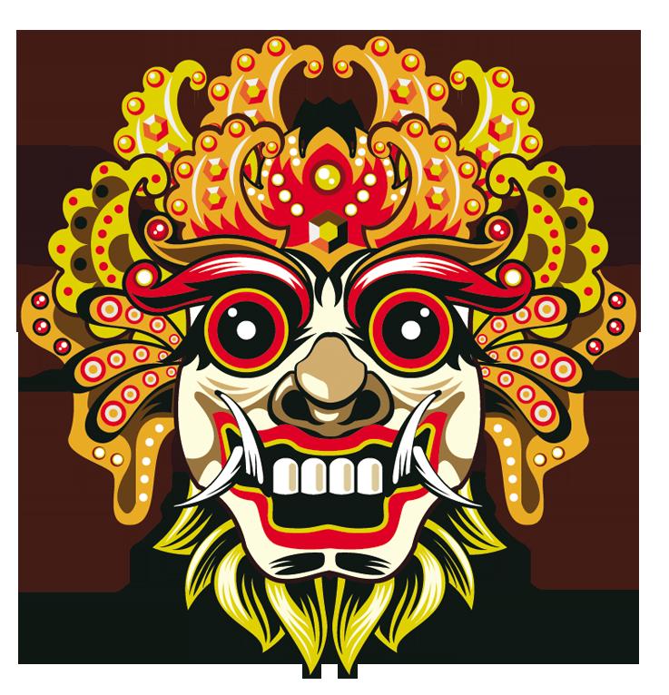 download barong bali mask face chiefs euclidean vector hq png image freepngimg download barong bali mask face chiefs