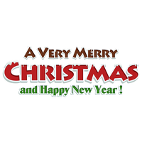 Download Merry Christmas Text Free PNG photo images and clipart ...