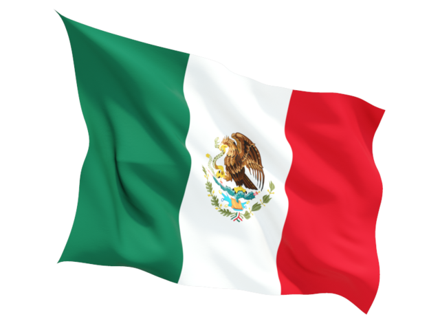 Mexico Flag Png Hd PNG Image