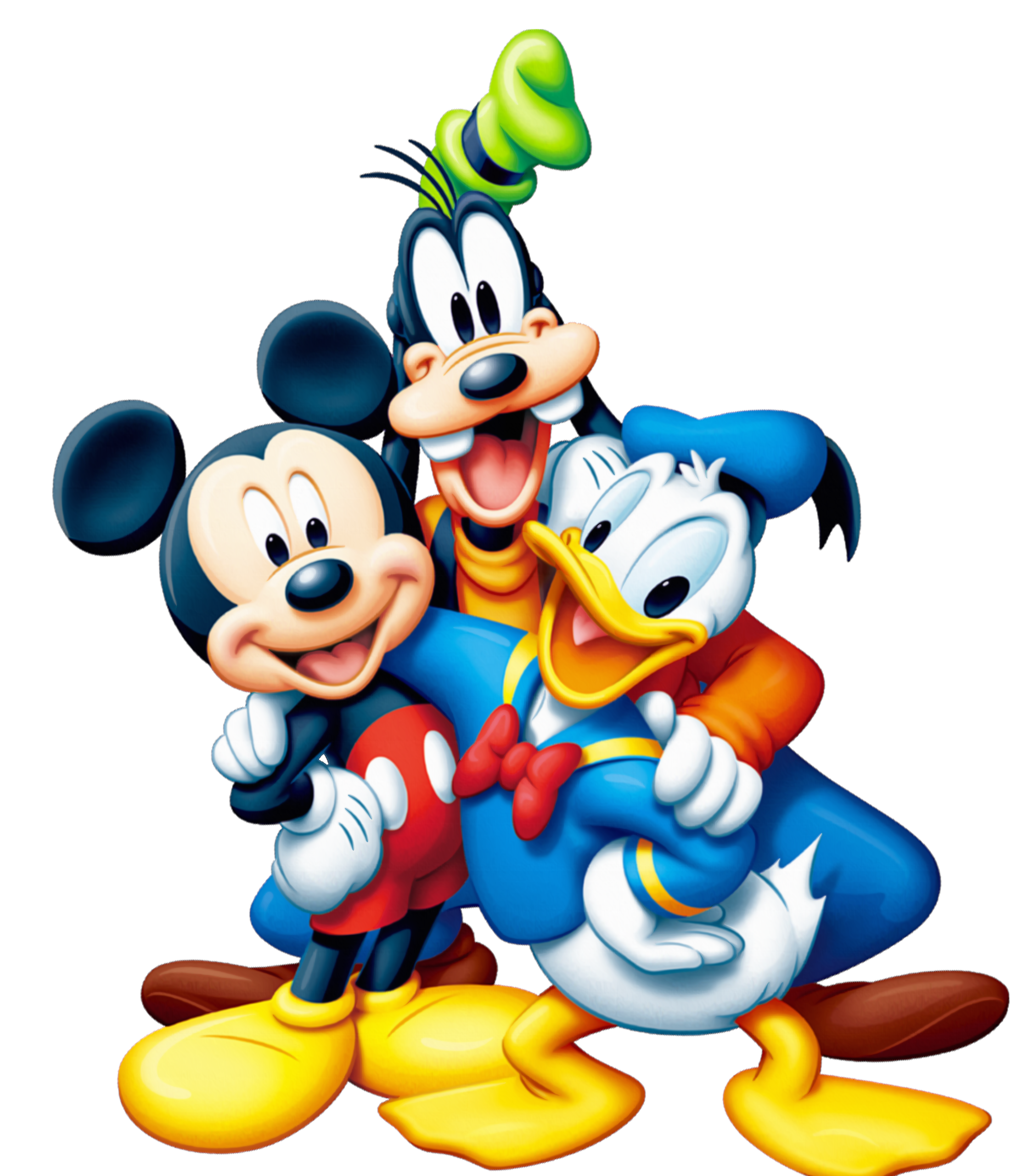 Mickey And Friends Minnie Goofy Mouse PNG Image