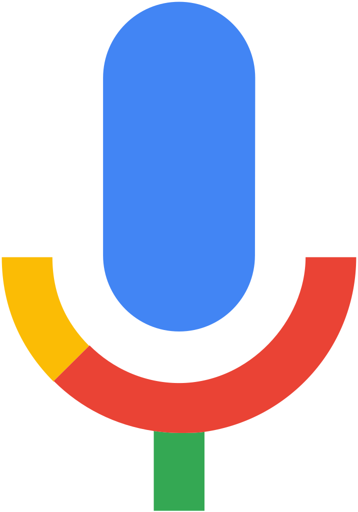 Voice Microphone Google Search Logo PNG File HD PNG Image