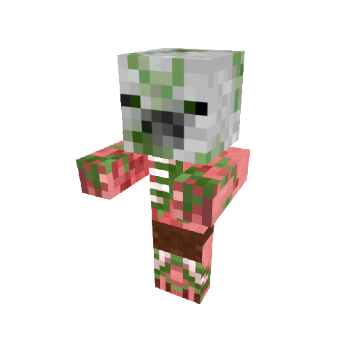 Minecraft Zombie Pigman Png PNG Image