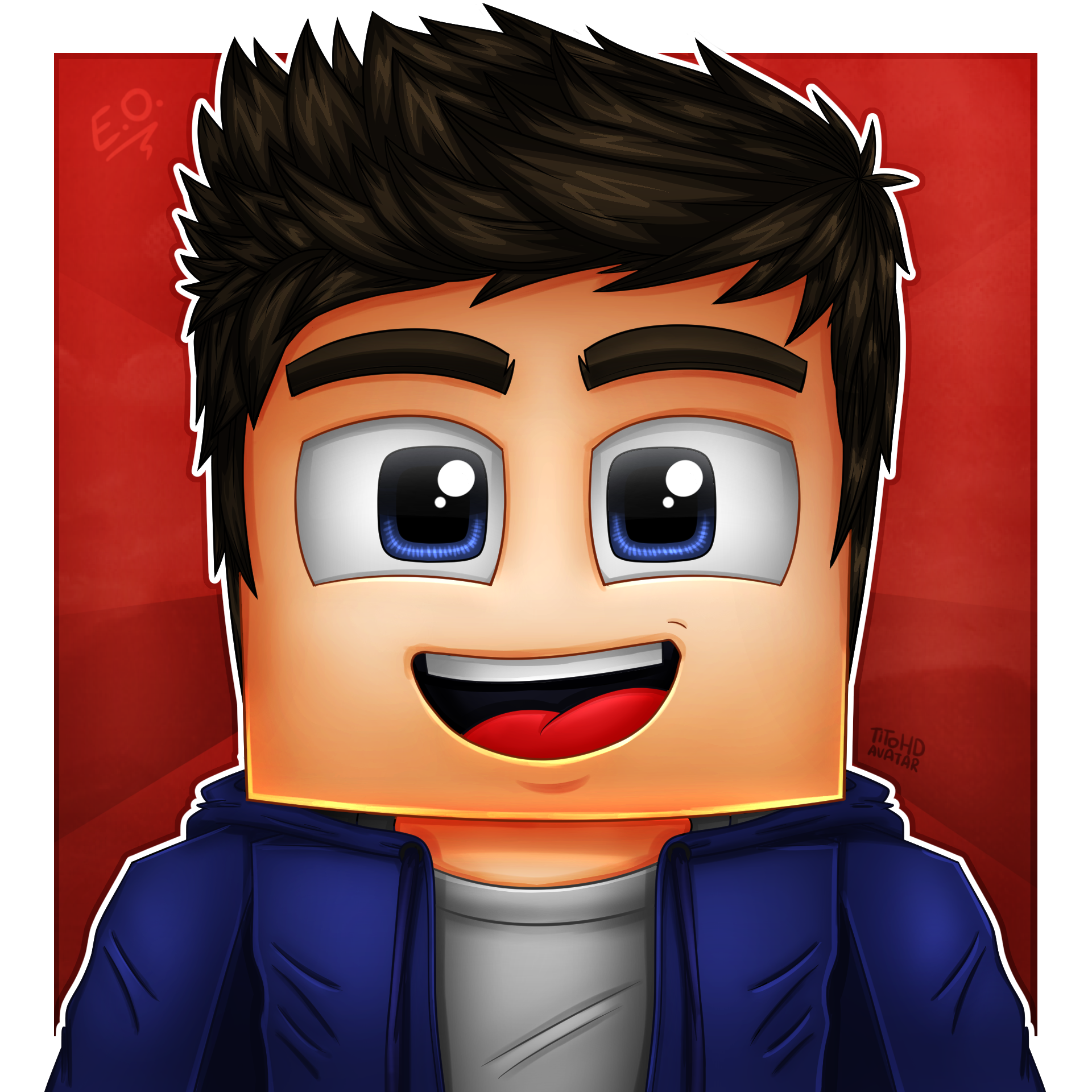 Youtube Game Video Avatar Minecraft Drawing PNG Image