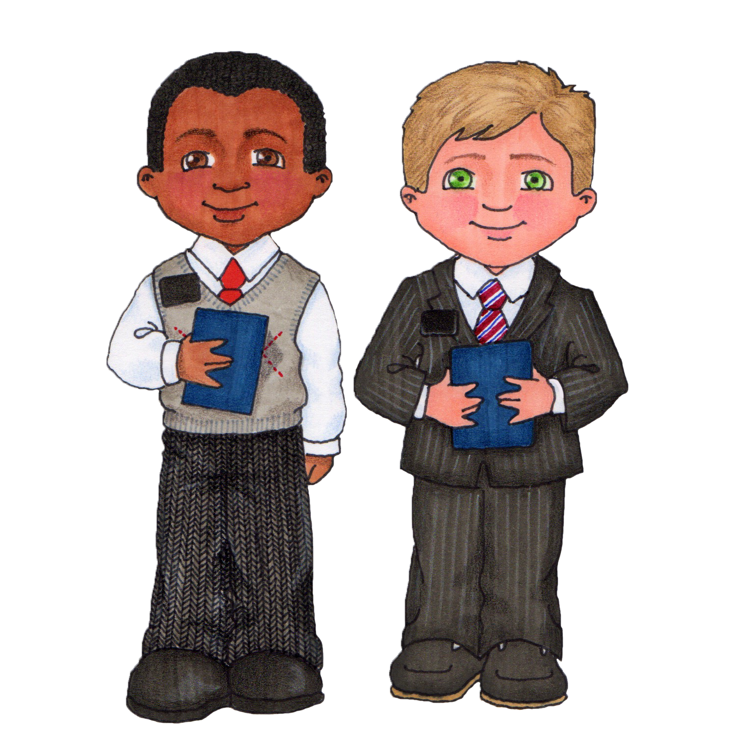 Missionaries Christ Latter-Day Of Saints Jesus Church PNG Image