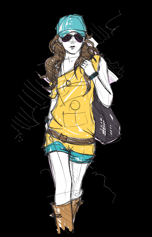 6326bd8ac23 Download PNG image - Fashion Girl Hd 1146