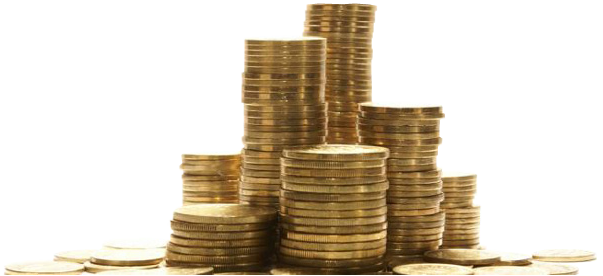 Coin Stack Transparent Image PNG Image