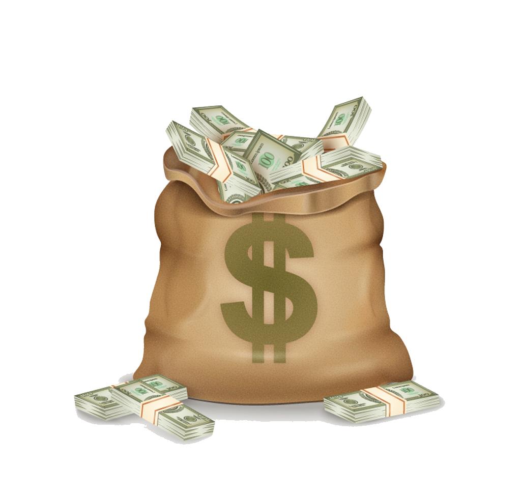 Download Pocketbook Money Dollar Sign Bag Vector Bank HQ ...