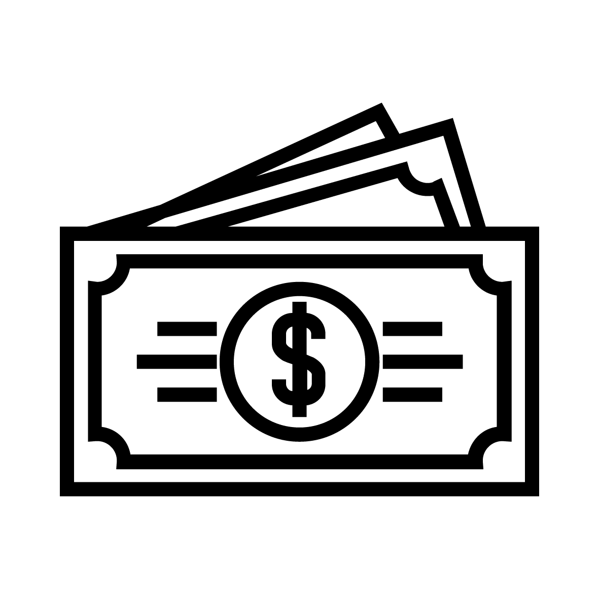 Icons Money Bill Dollar Computer Bank Stock PNG Image