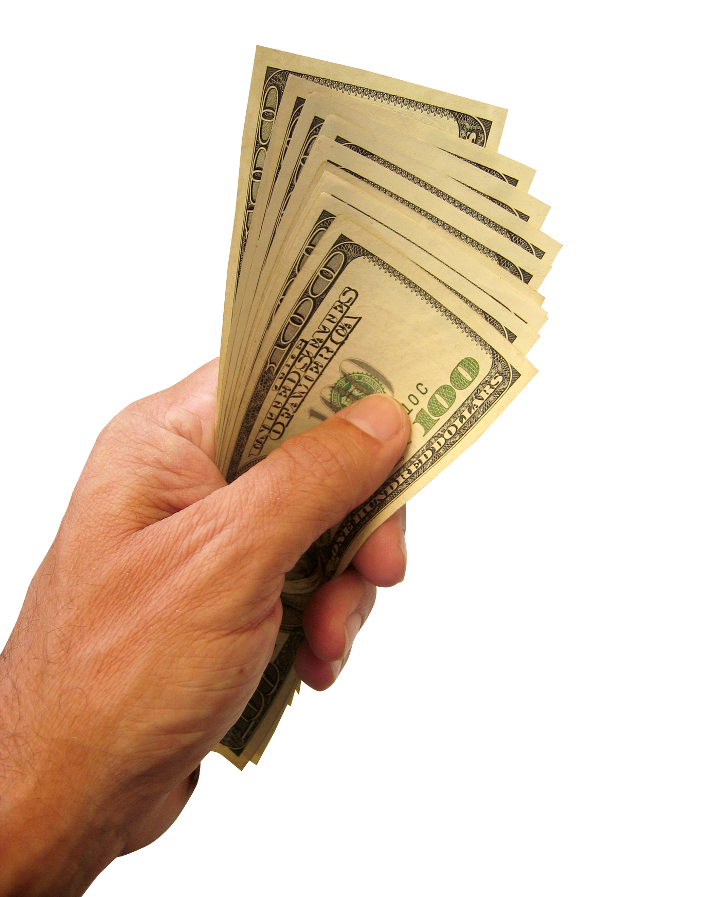 Account Money Dollars Budget Us Hand Savings PNG Image