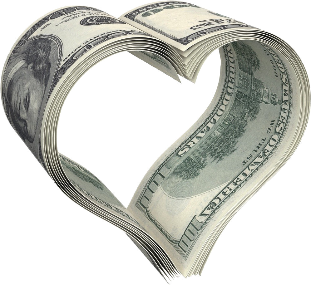 Love Finance Money Photography Dollar Stock PNG Image
