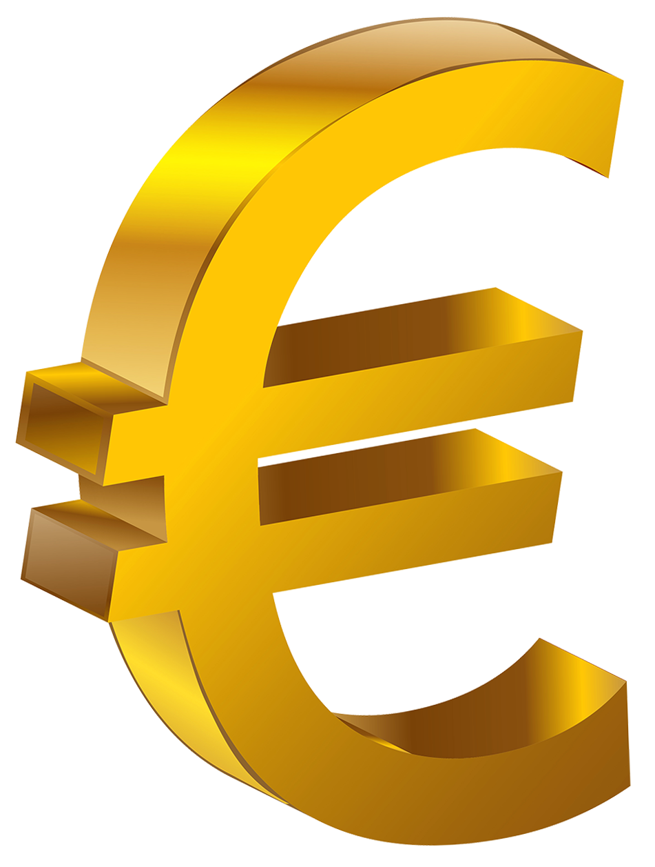 Sign Transparent Gold Euro HQ Image Free PNG PNG Image