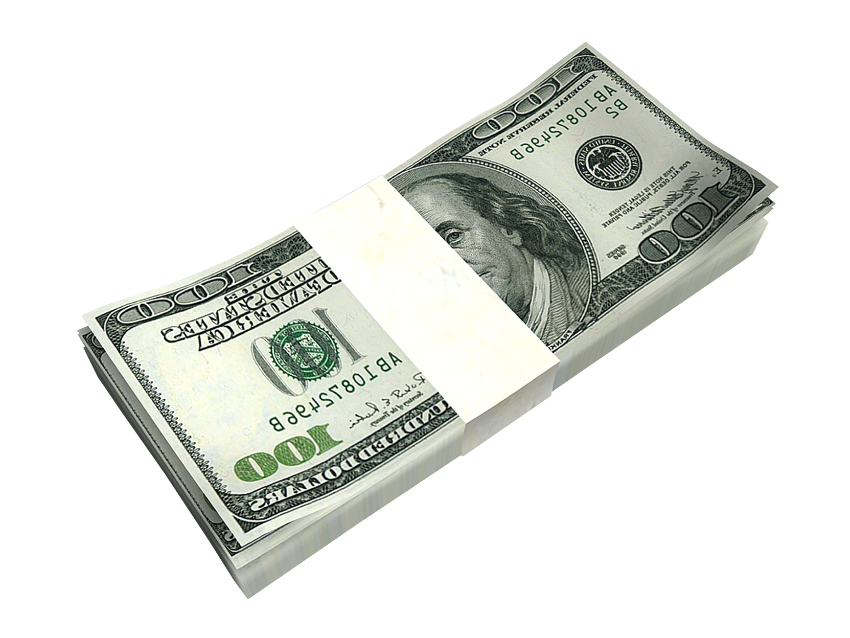 United Banknote Money Bill Dollar One-Dollar Cash PNG Image