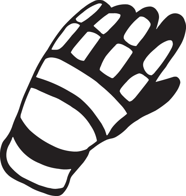 Thumb Biker Glove Polyvinyl Decal Gloves Motorcycle PNG Image