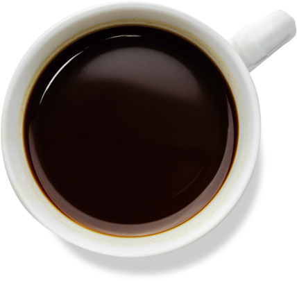 Coffee Mug Top Transparent Picture PNG Image