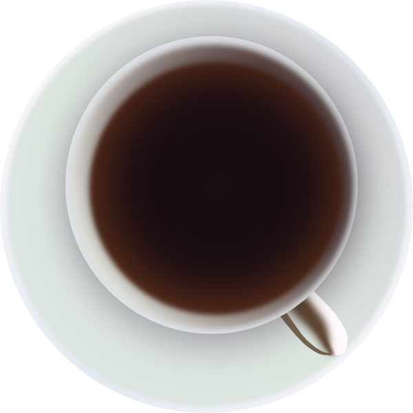 Coffee Mug Top File PNG Image