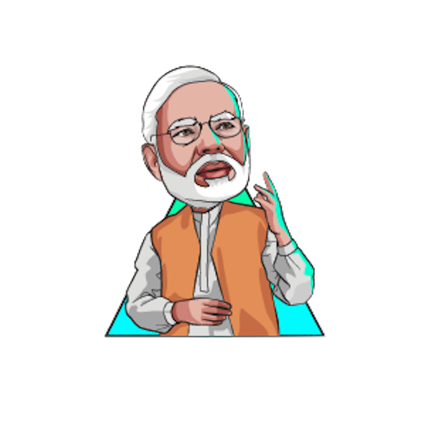 Modi Chief Narendra Cartoon Minister Free Clipart HD PNG Image