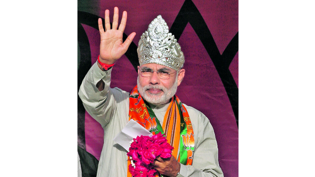 Modi Magenta Profession Narendra Tradition HD Image Free PNG PNG Image
