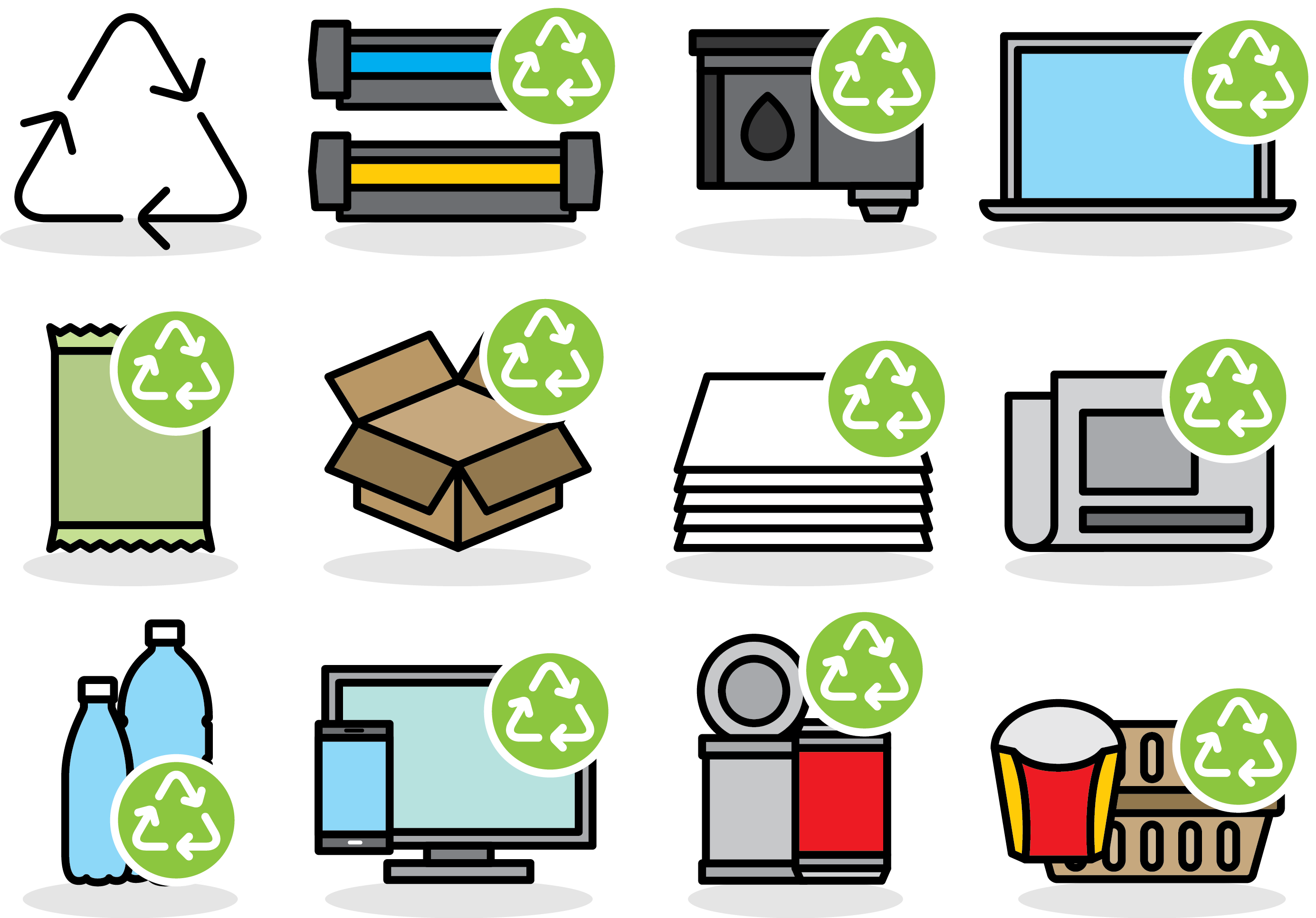 Paper Waste Symbol Recycling Vector PNG Download Free PNG Image