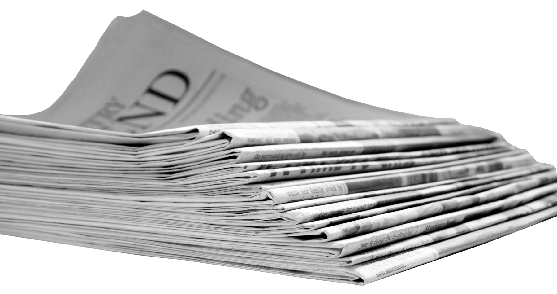 Newspaper Picture PNG Image