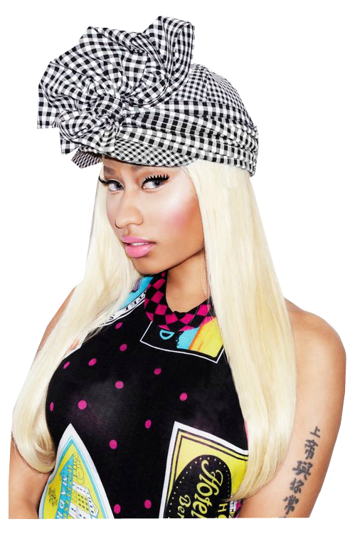 Nicki Minaj Transparent PNG Image