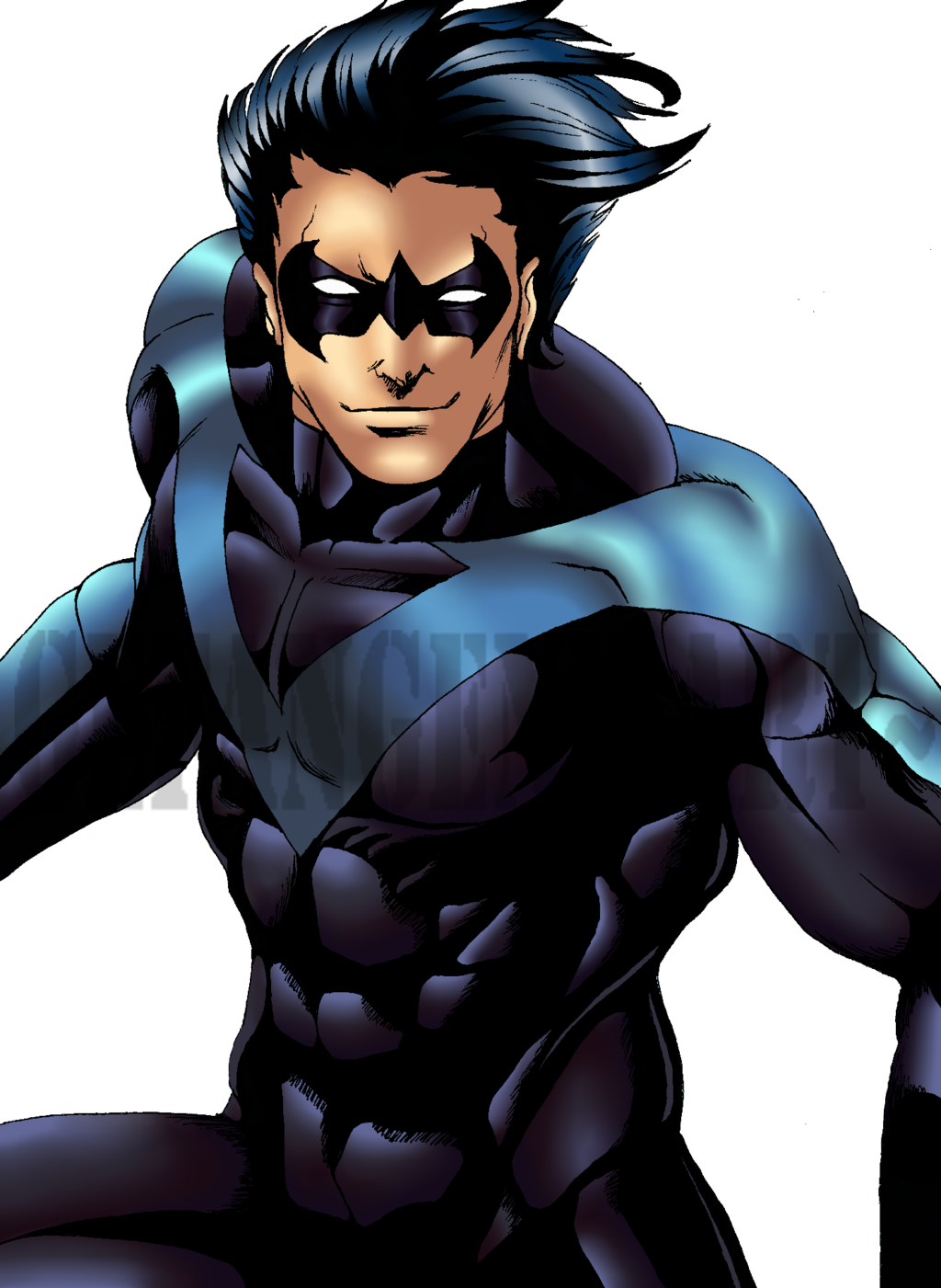 Nightwing Transparent Background PNG Image