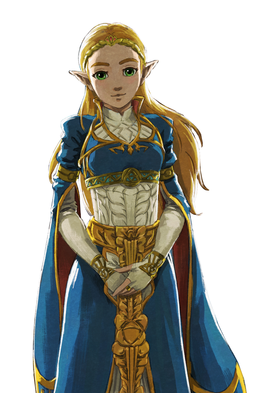 Mythical Of Character Zelda Fictional Princess Breath PNG Image