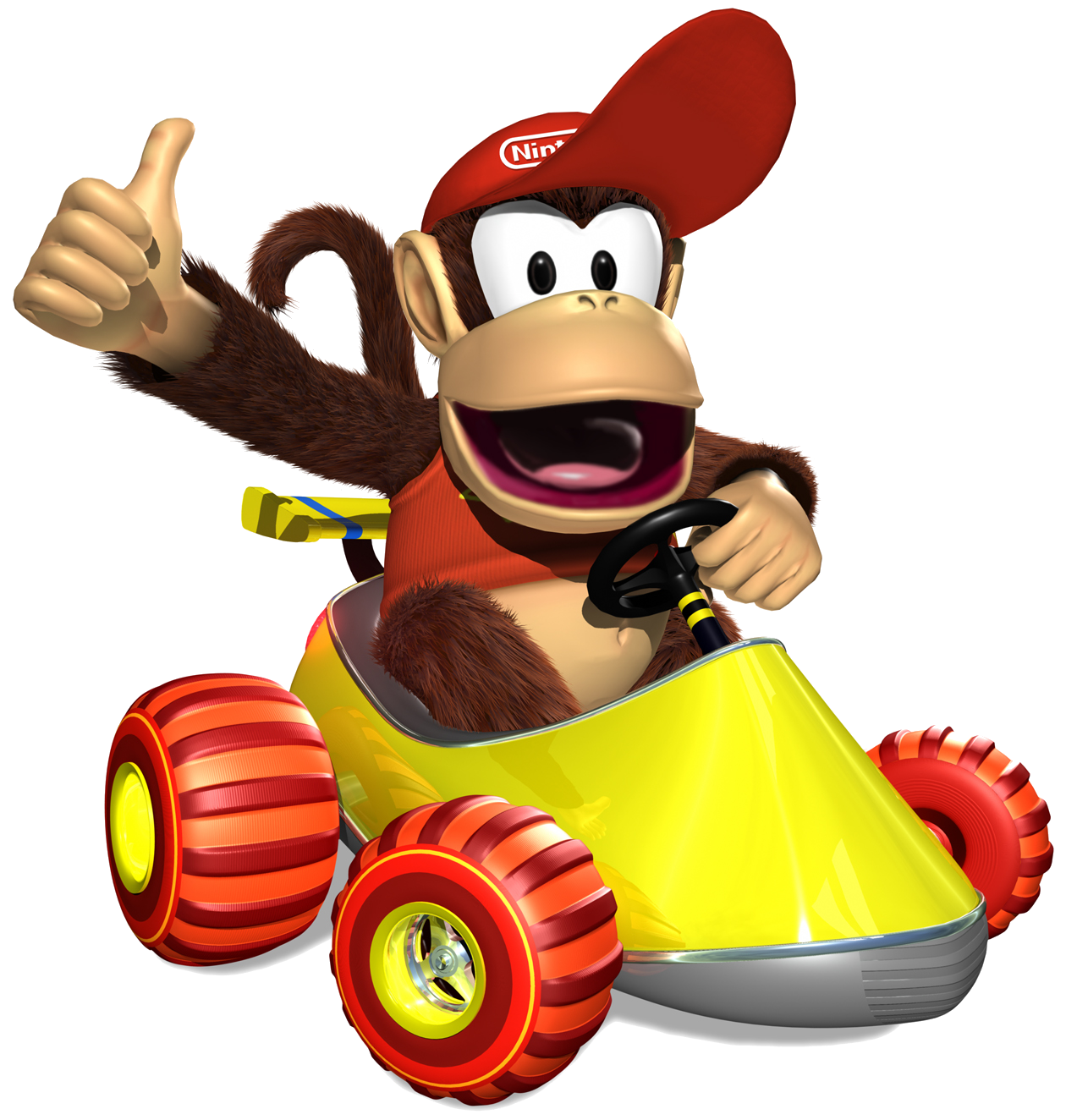 Toy Kart Wii Kong Mario Diddy Racing PNG Image
