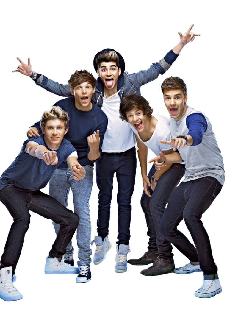 One Direction Free Download PNG Image