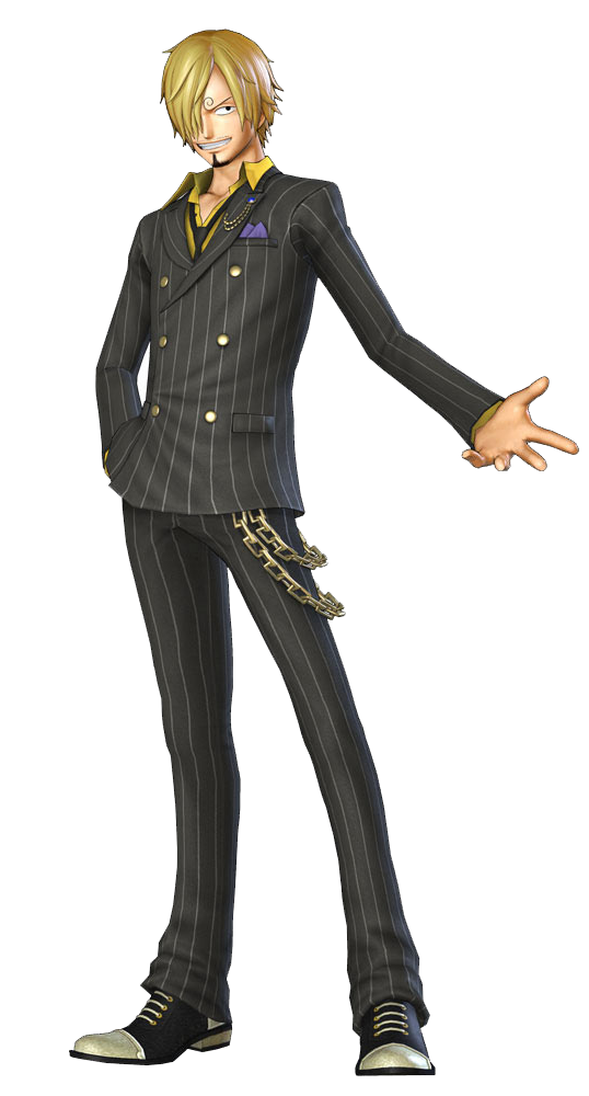 One Piece Sanji Clipart PNG Image