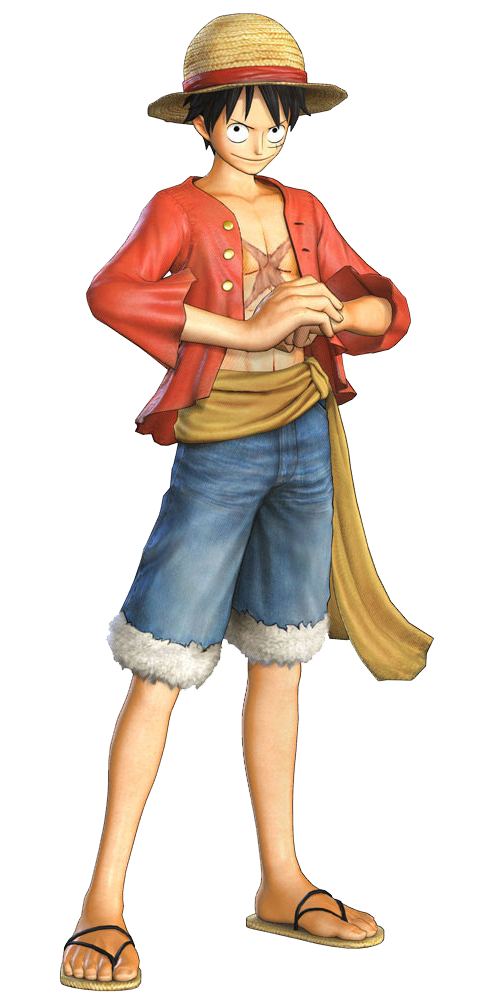 download one piece luffy transparent hq png image freepngimg
