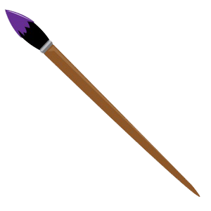 Paint Brush Png File PNG Image