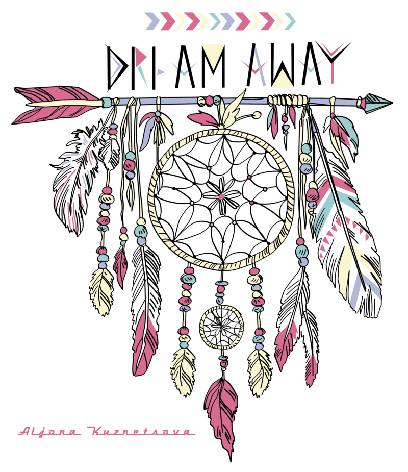 Watercolor Art Painting Dreamcatcher PNG File HD PNG Image
