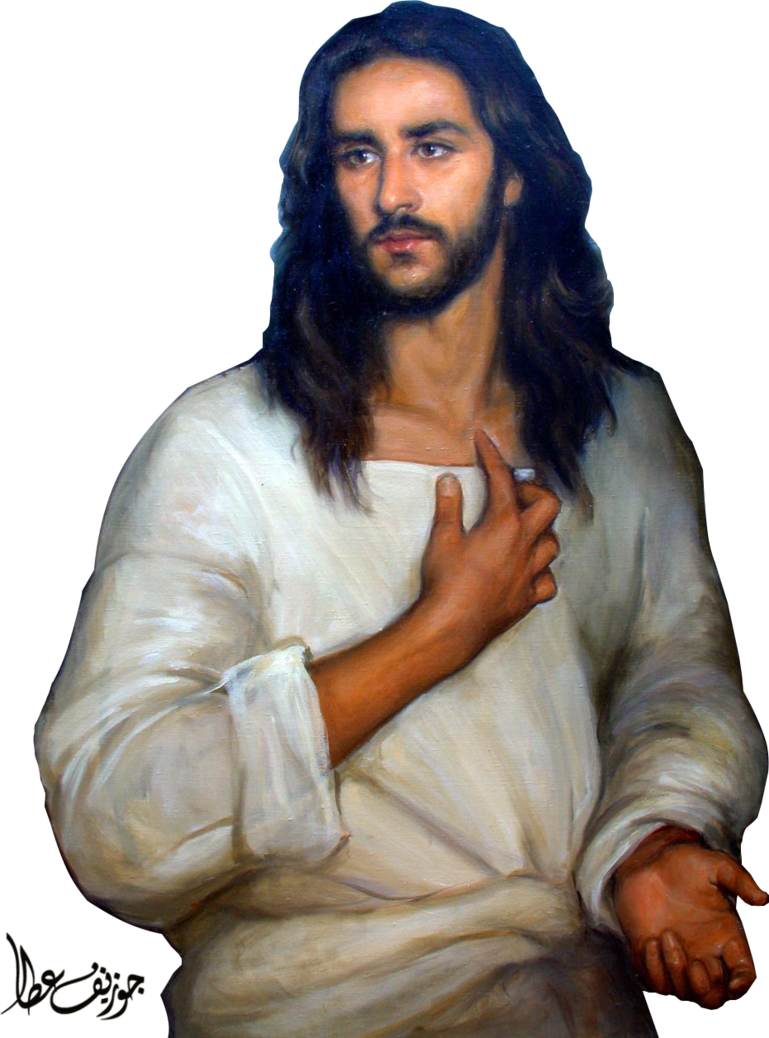Art Christ Painting Jesus Religious Drawing PNG Image