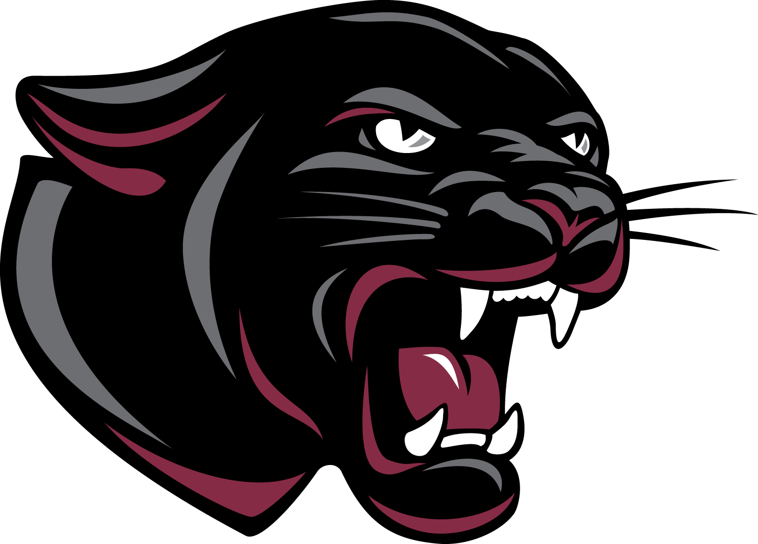 School Permian Panther Cat High Logo Mascot PNG Image