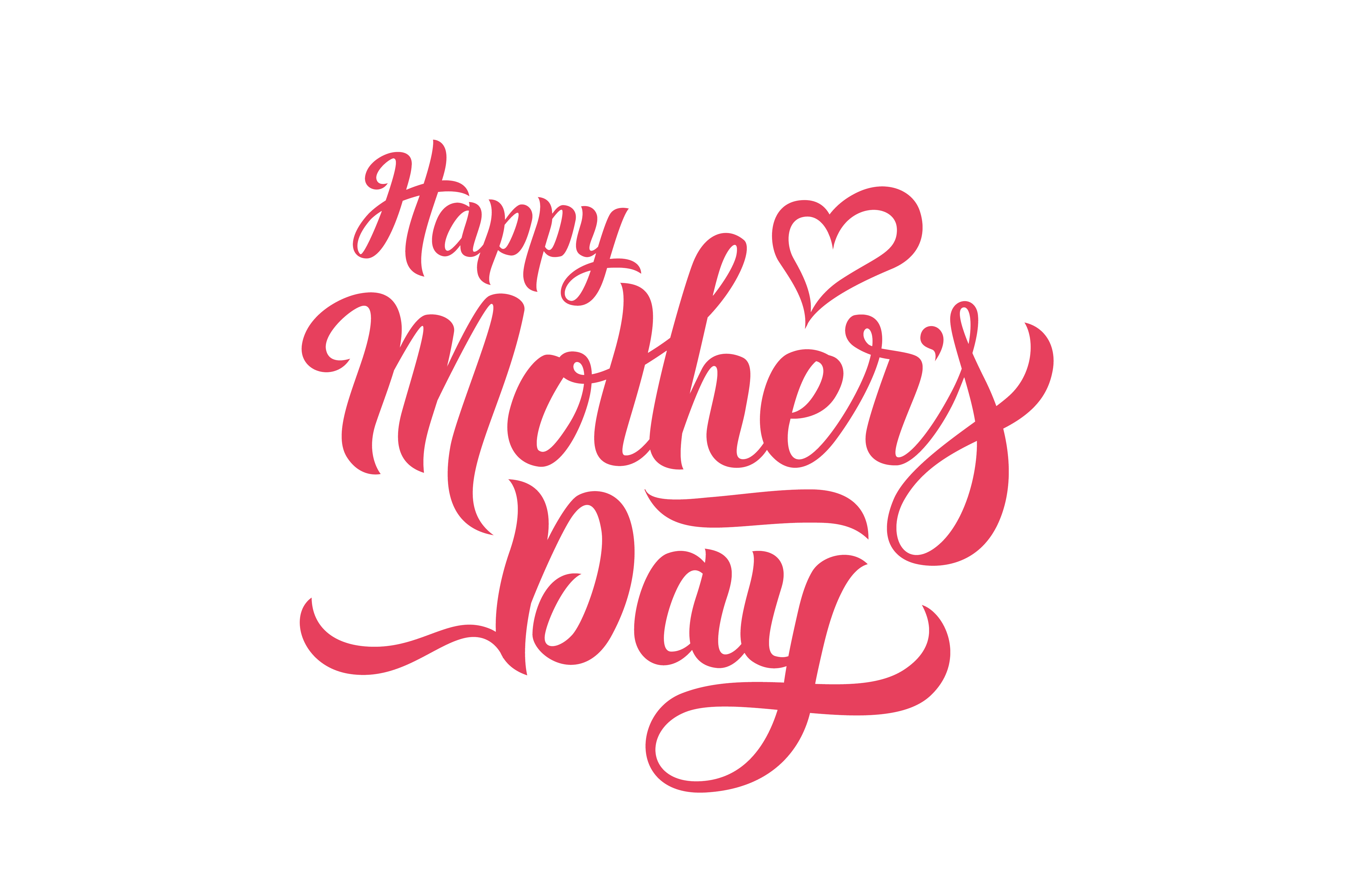 Happy Mothers Day Mother'S Free Frame PNG Image