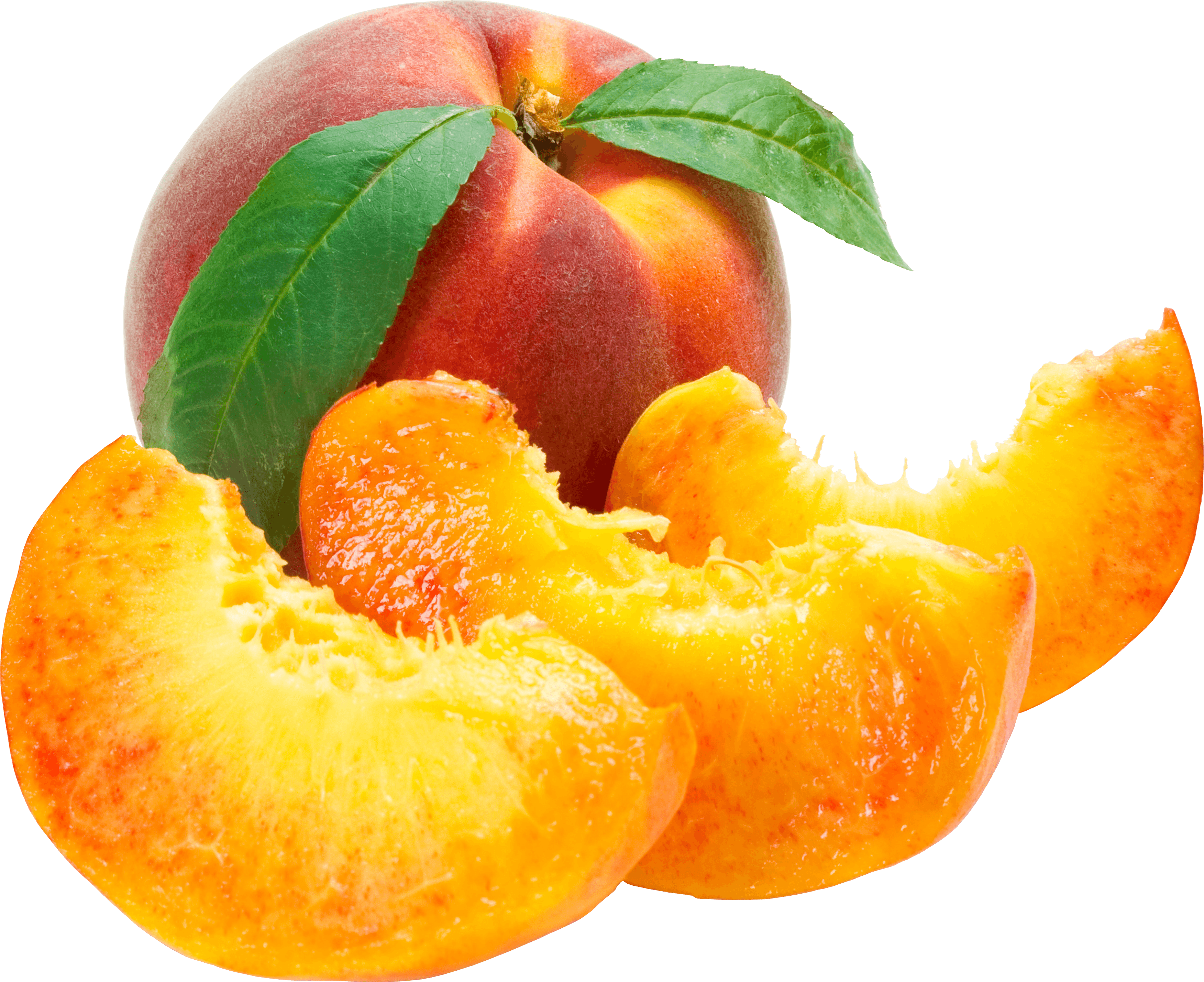 Sliced Peaches Png Image PNG Image