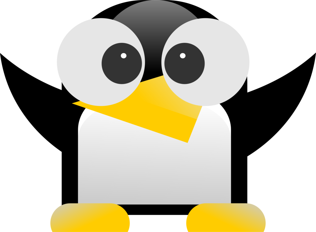 Tux Icons Racer Computer Linux Penguin PNG Image