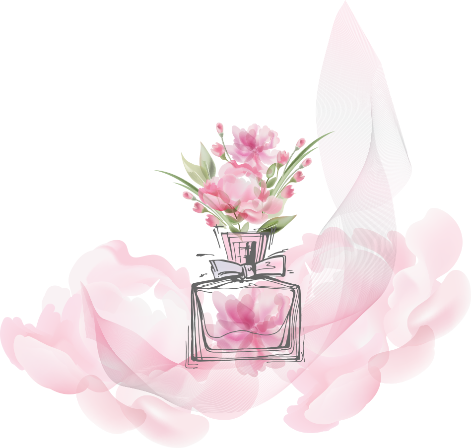 Vector Oil Bottle De Toilette Perfume Fashion PNG Image