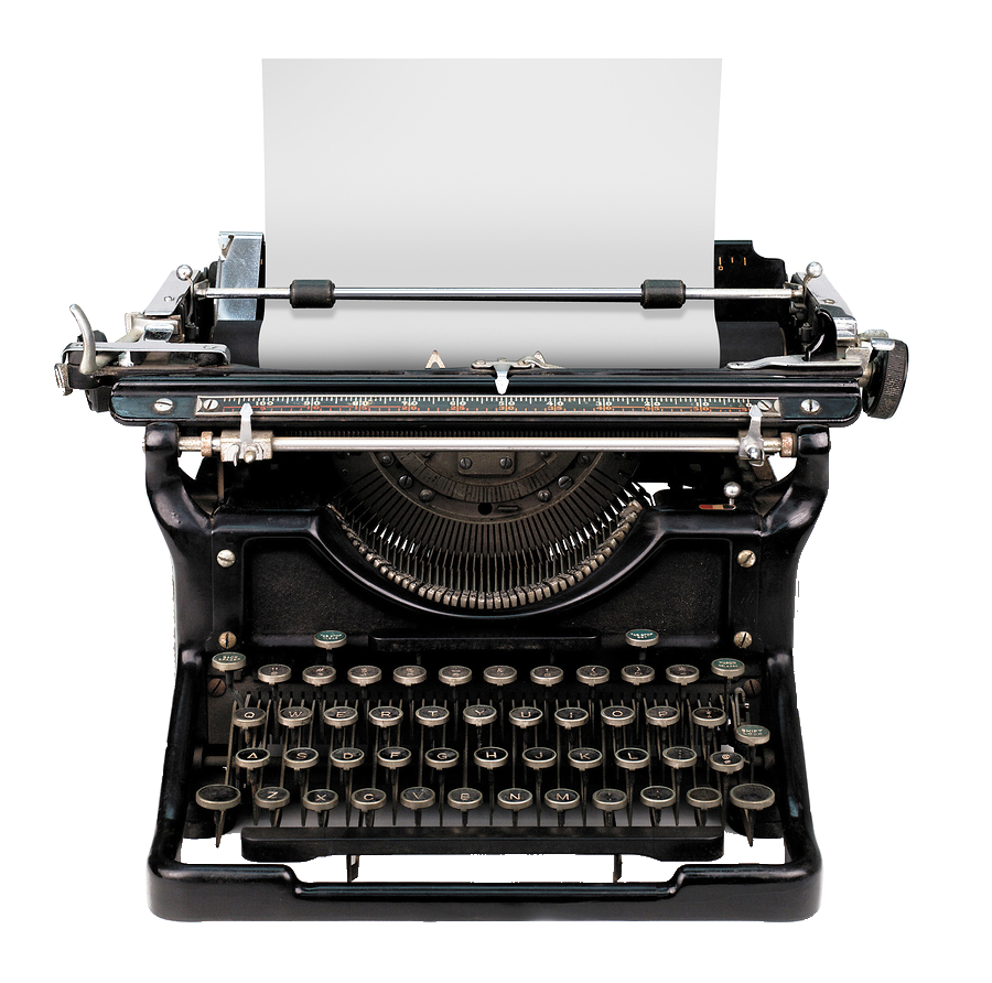 Fotosearch Vintage Photography Royalty-Free Paper Typewriter Computer PNG Image