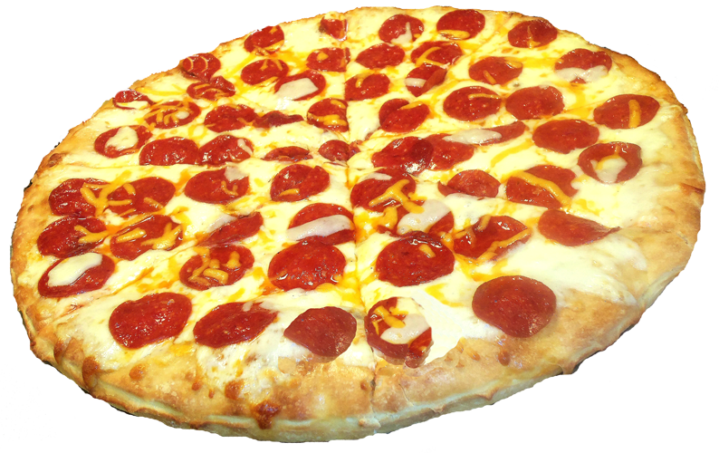 Download Pepperoni Pizza Transparent HQ PNG Image | FreePNGImg