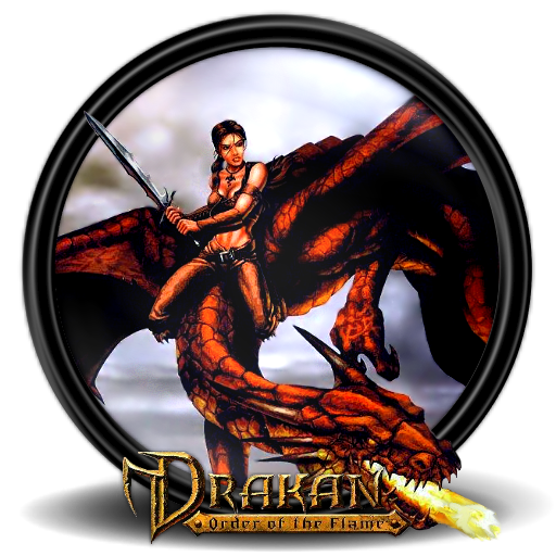 Drakan Of Flame The Creature Order Mythical PNG Image