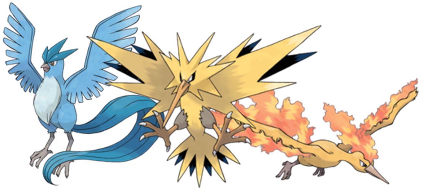 Legendary Pokemon Photos PNG Image