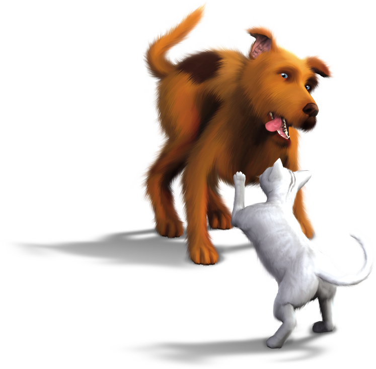Sims Carnivoran Tail Cats Pets Dogs PNG Image