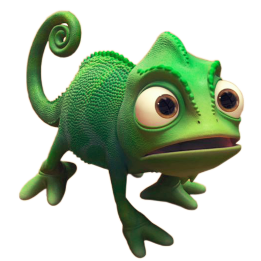 Download Reptile Chameleon Youtube Game Video Rapunzel Tangled Hq Png Image Freepngimg