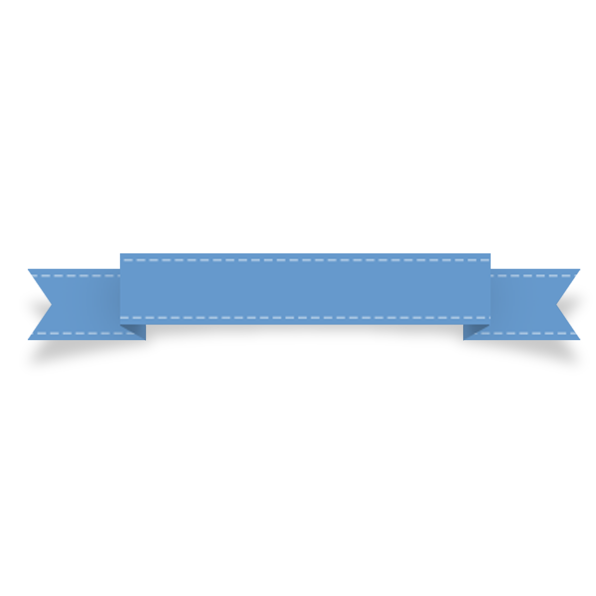 Blue Upgrade Banding Colour Label Ribbon PNG Image