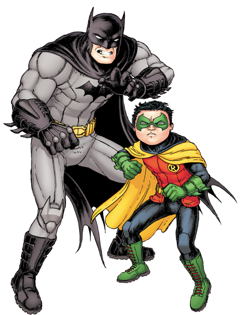 Batman And Robin Clipart PNG Image