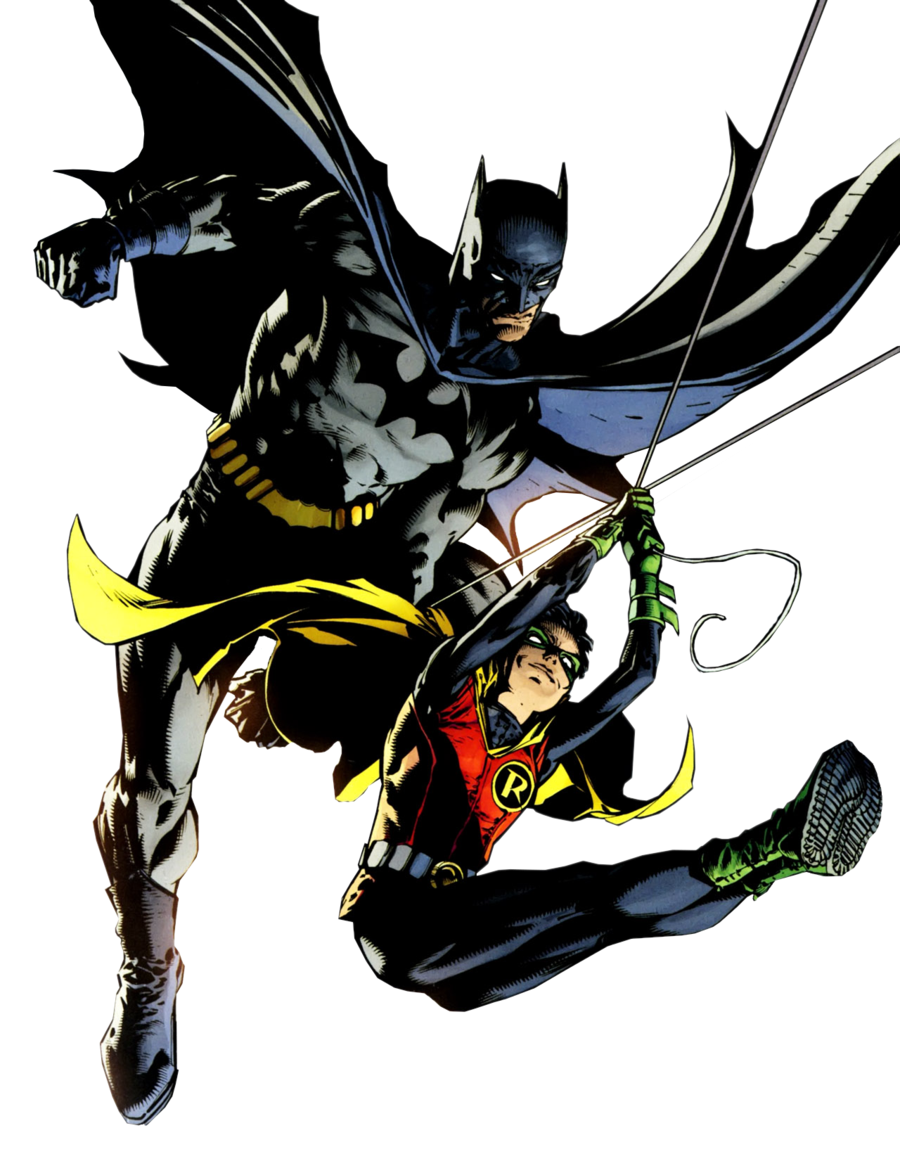 Batman And Robin Free Download PNG Image