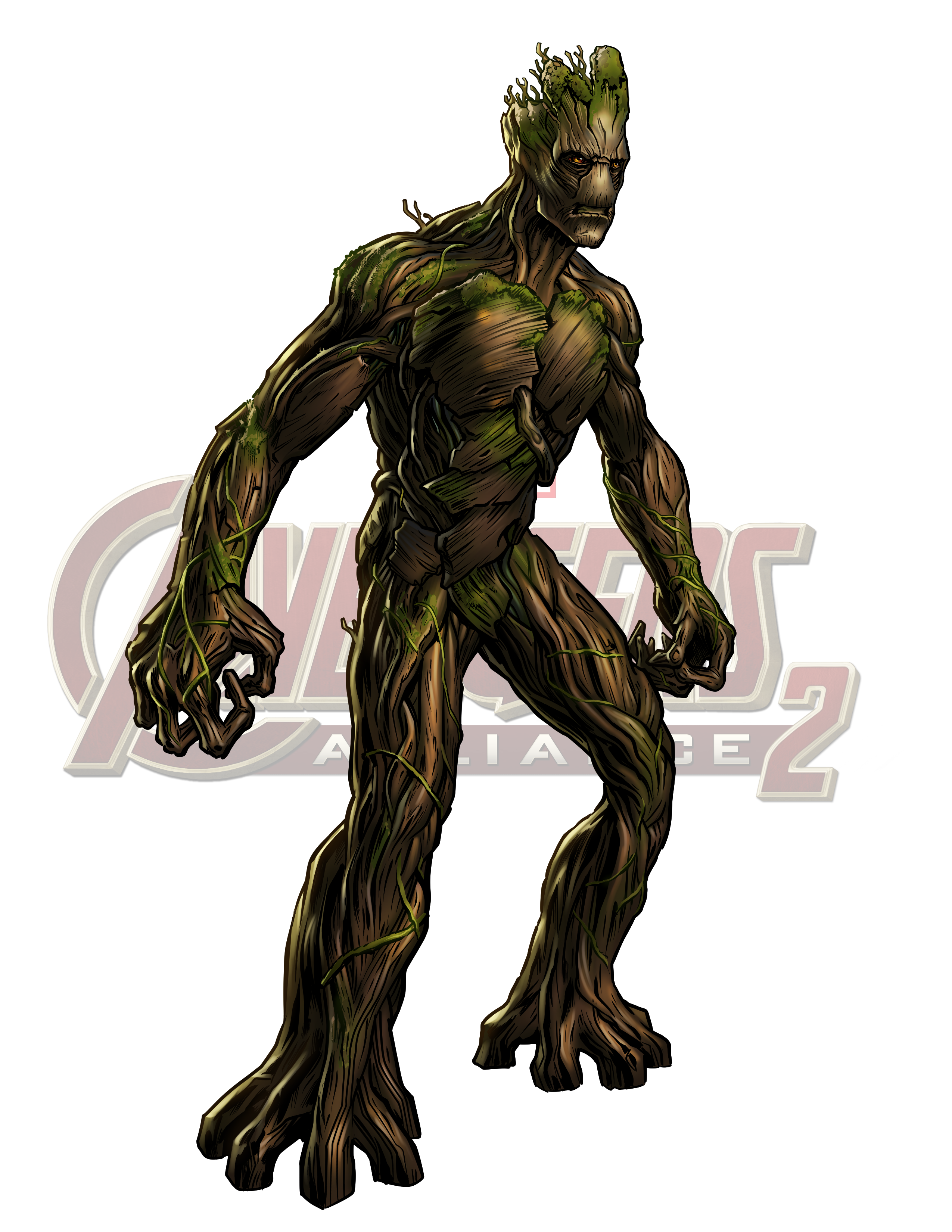 Alliance Rocket Character Fictional Groot Figurine Raccoon PNG Image